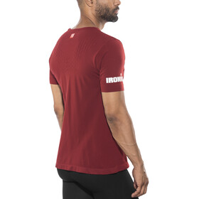 Compressport Running T-Shirt Unisex Ironman Edition Red